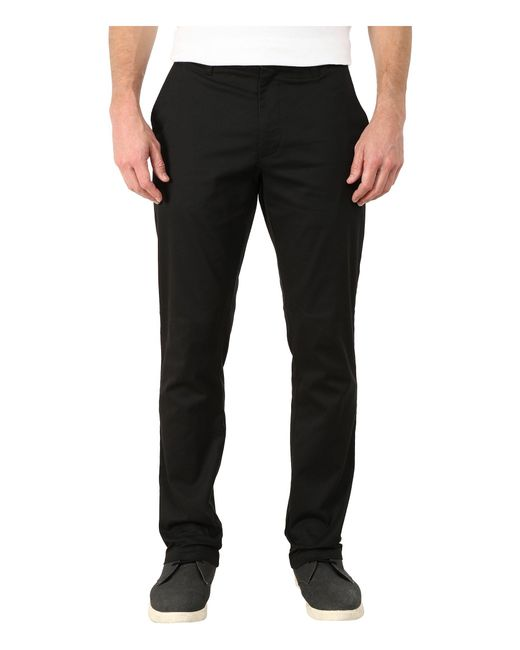 RVCA - Black The Week-end Stretch Pants for Men - Lyst