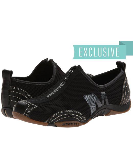Merrell - Barrado (black Leather) Women's Flat Shoes - Lyst