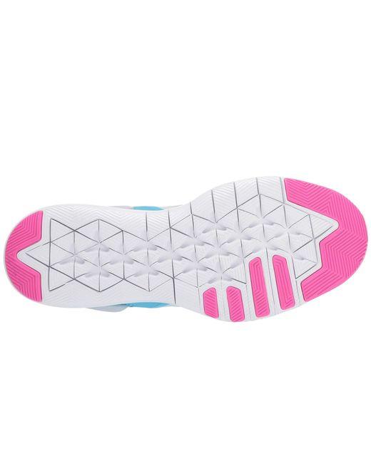 12ab17a9ffb ... Nike - Flex Tr 9 (pure Platinum laser Fuchsia white) Women s Cross ...
