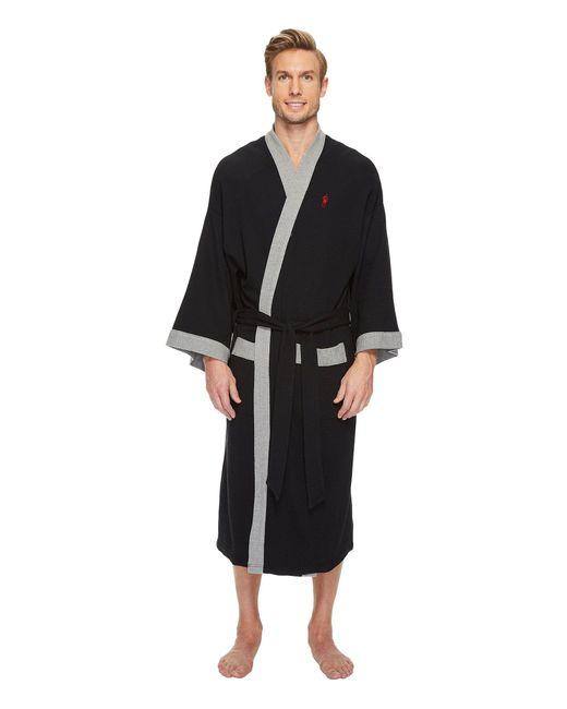 Jockey - Black Waffle Kimono (grey Heather) Men's Robe for Men - Lyst