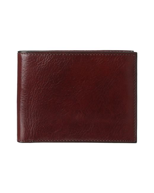 Bosca - Old Leather Classic 8 Pocket Deluxe Executive Wallet (dark Brown) Wallet Handbags for Men - Lyst