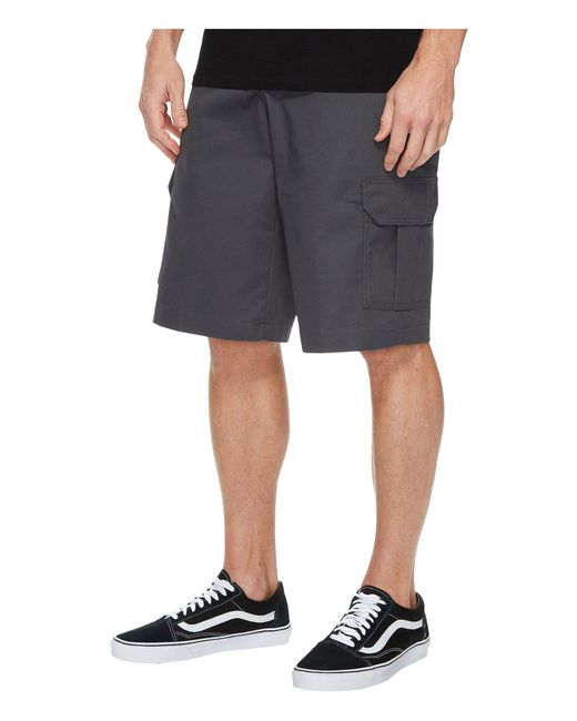 849bdf8f0c ... Dickies - Gray 13 Relaxed Fit Mechanical Stretch Cargo Shorts (dark  Navy) Men's Shorts ...