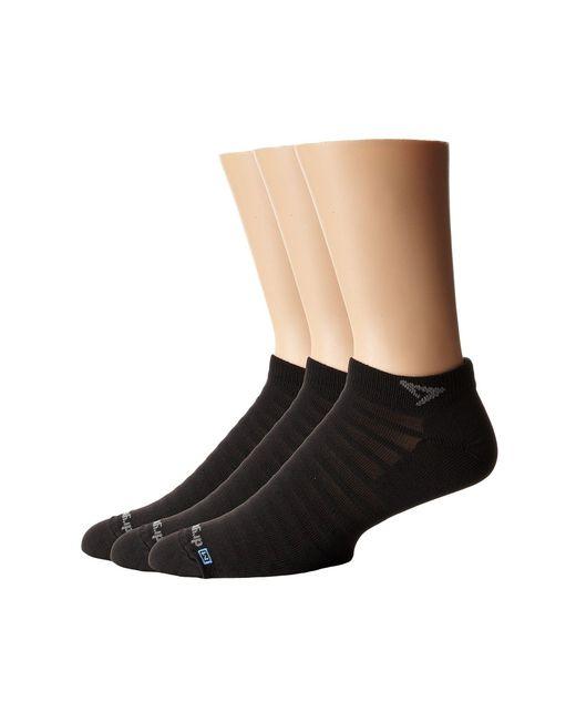 Drymax Sport - Black Hyper Thintm Running V4 Mini Crew 3-pair Pack (white) Low Cut Socks Shoes - Lyst