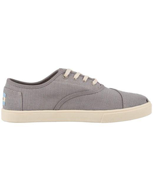 565ee093254 ... TOMS - Black Cordones Cupsole (natural Heritage Canvas Cupsole) Women s  Shoes ...