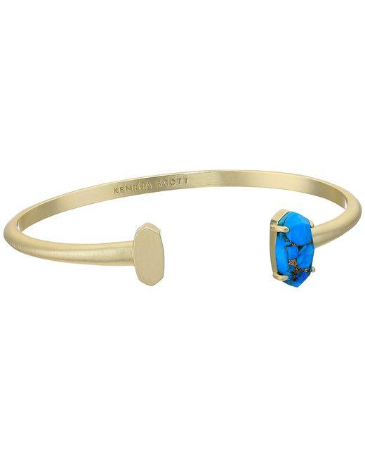 Kendra Scott - Metallic Vada Bracelet (bright Silver/ivory Mother-of-pearl) Bracelet - Lyst
