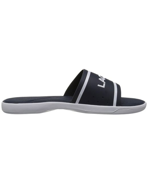 42c01771d16fde Lyst - Lacoste L.30 Slide 118 1 (navy white) Women s Shoes in Blue ...