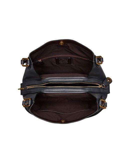 3c446ab41732 ... COACH - Black Edie 31 Shoulder Bag In Signature Leather (b4 midnight  Navy) ...