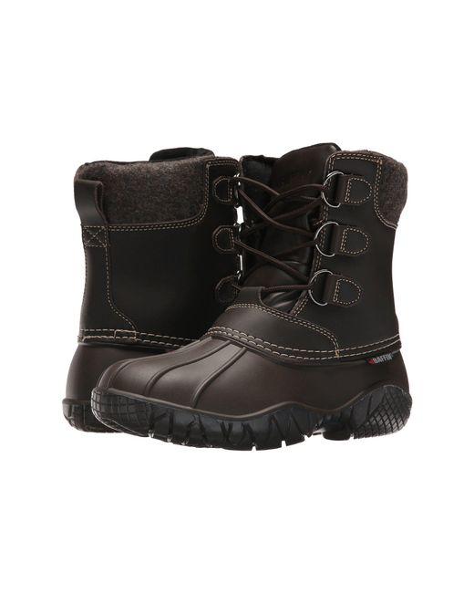 Baffin - Brown Superior (black/red) Women's Boots - Lyst
