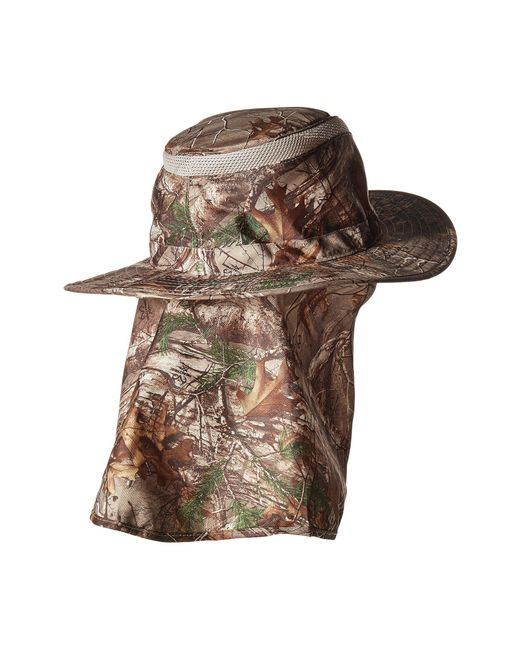 81cd20a106a ... Stetson - Multicolor No Fly Zone Flap Safari (camo) Caps for Men - Lyst