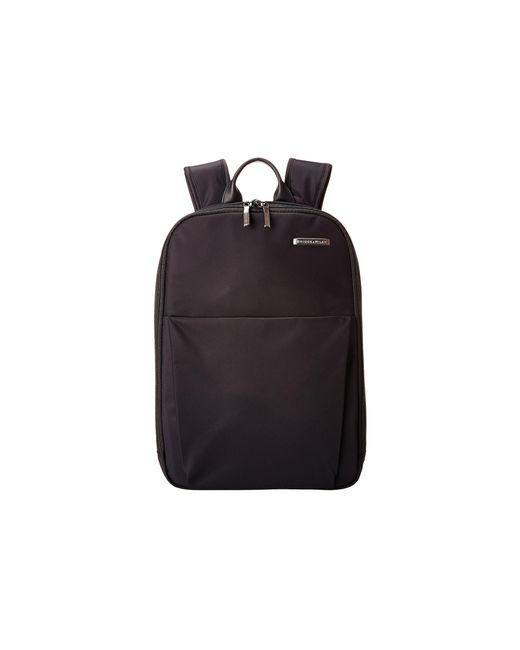 Briggs & Riley - Sympatico - Backpack (black) Backpack Bags - Lyst