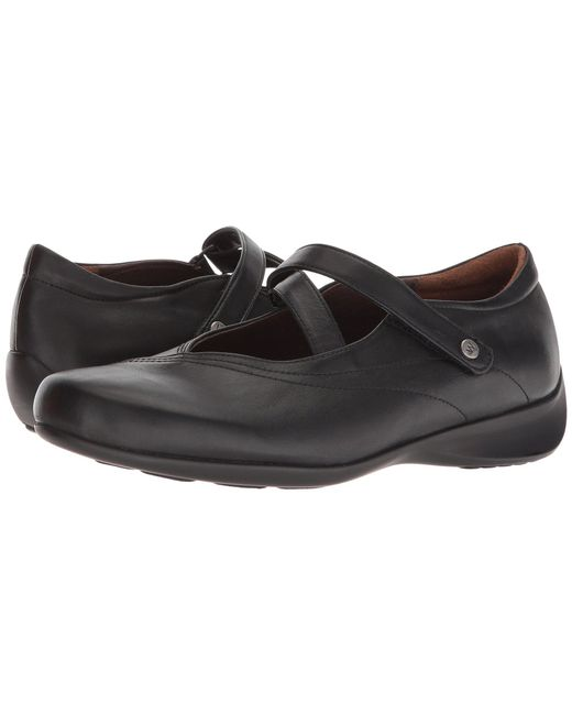 Wolky - Black Passion (cafe Smooth Leather) Women's Flat Shoes - Lyst