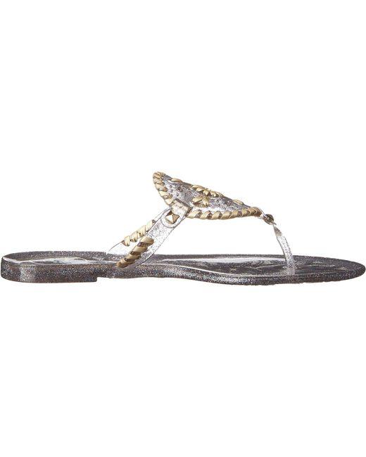 3eb613458e10 ... Jack Rogers - Multicolor Sparkle Georgica Jelly (multi) Women s Sandals  ...