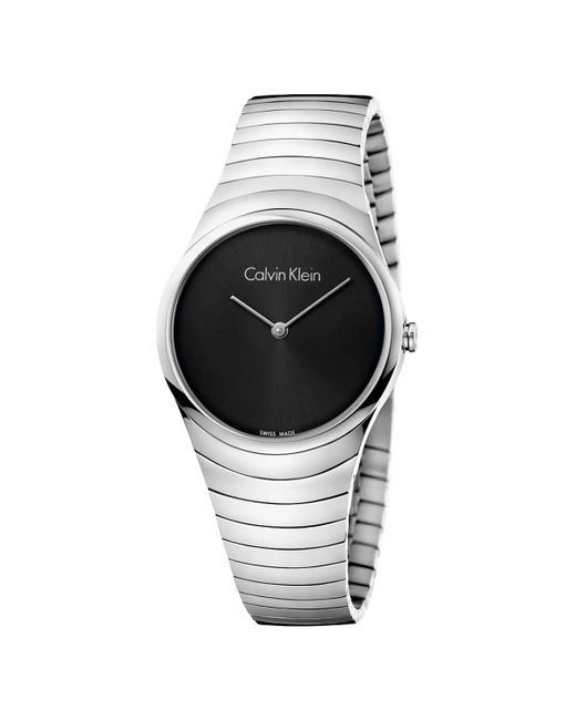 Calvin Klein - Multicolor Whirl Watch - K8a23141 (black/silver) Watches - Lyst