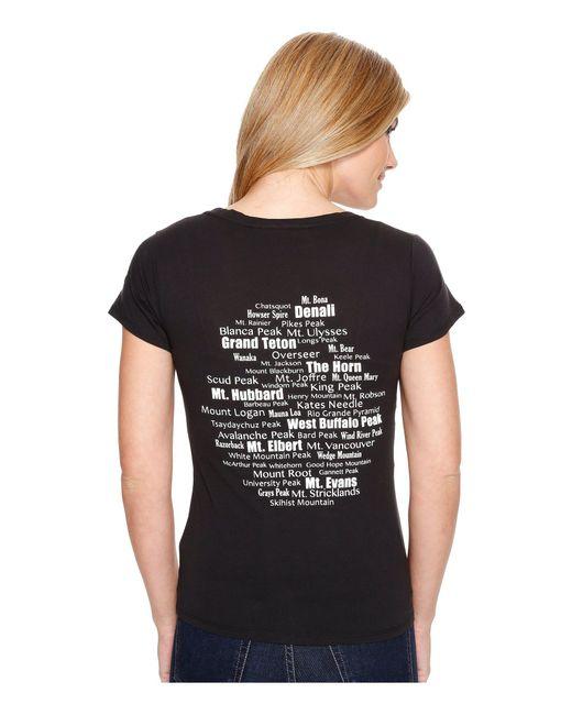 Spyder   Black Jersey Scoop Neck Shirt   Lyst
