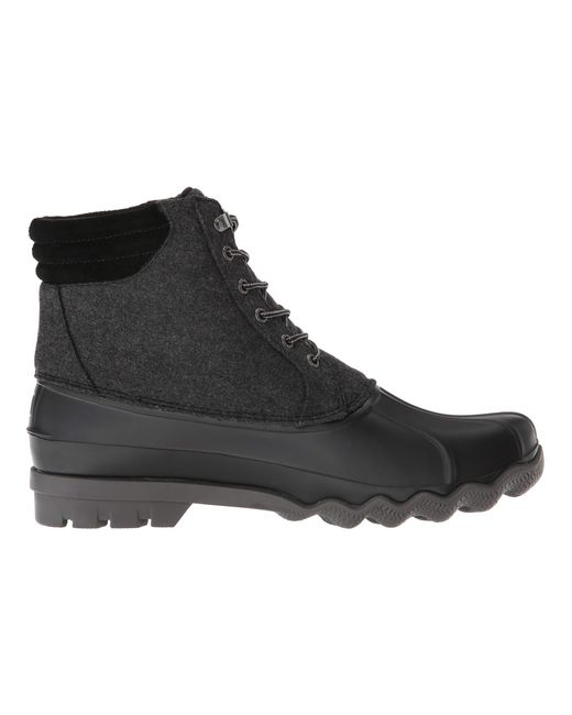 5529ea7316e Lyst - Sperry Top-Sider Avenue Duck Wool Boot in Gray for Men - Save 46%
