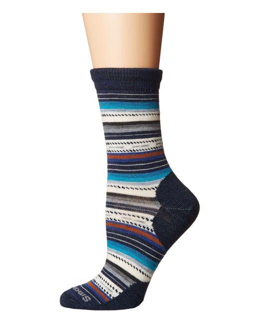 Smartwool - Blue Margarita (bordeaux Heather) Women's Crew Cut Socks Shoes - Lyst