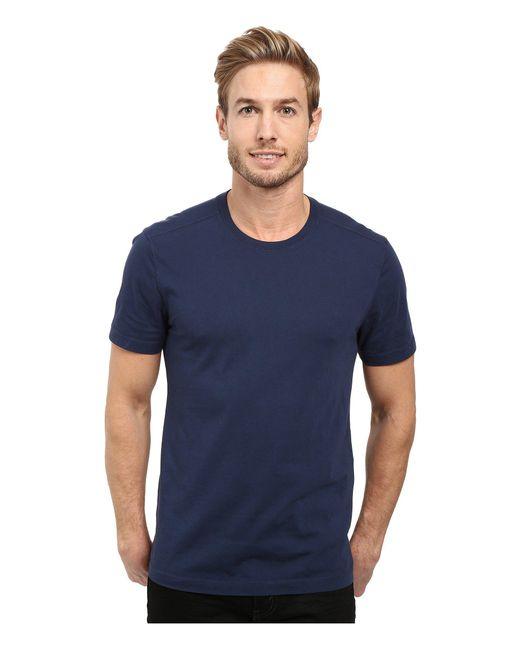 Agave - Agave Supima Crew Neck Short Sleeve Tee (black) Men's T Shirt for Men - Lyst