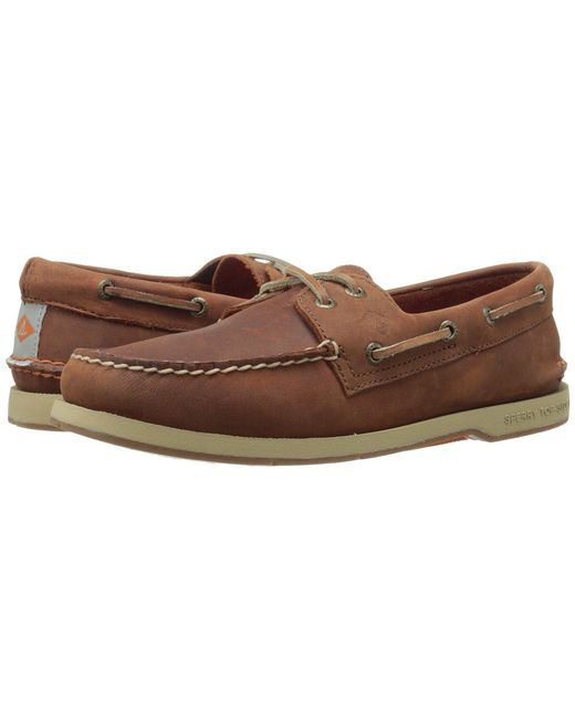 Sperry Top-Sider - Brown Captain's A/o 2-eye for Men - Lyst