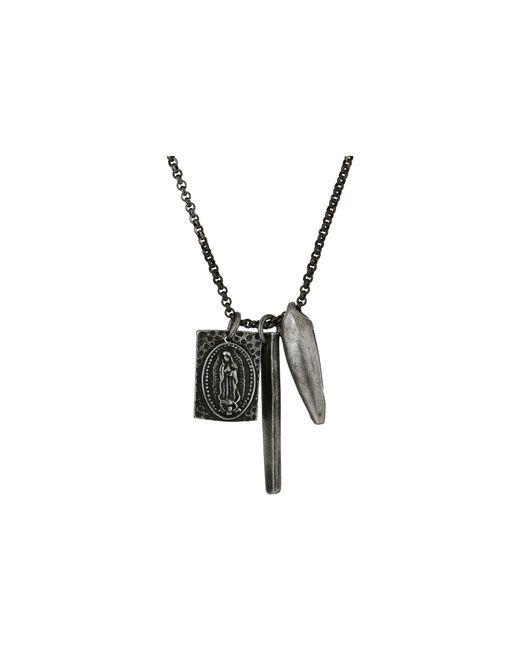 "Steve Madden - Metallic Stainless Steel 26"" Box Chain Necklace for Men - Lyst"