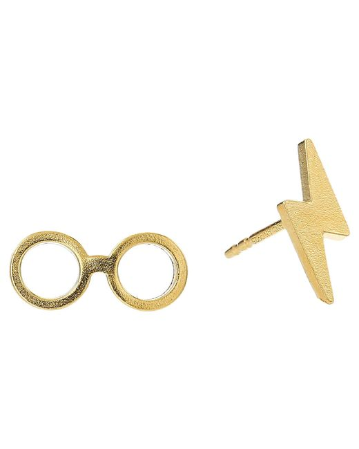 ALEX AND ANI - Metallic Harry Potter Glasses Earrings (sterling Silver) Earring - Lyst