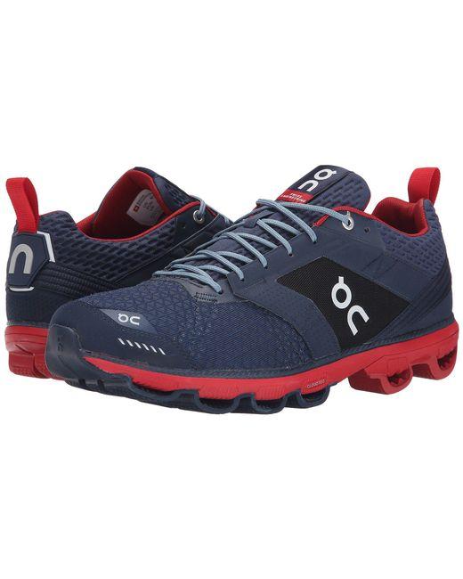 On - Red Cloudcruiser (black/white) Men's Shoes for Men - Lyst