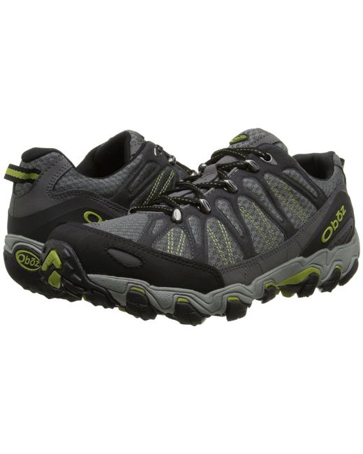 Oboz - Gray Traverse Low for Men - Lyst