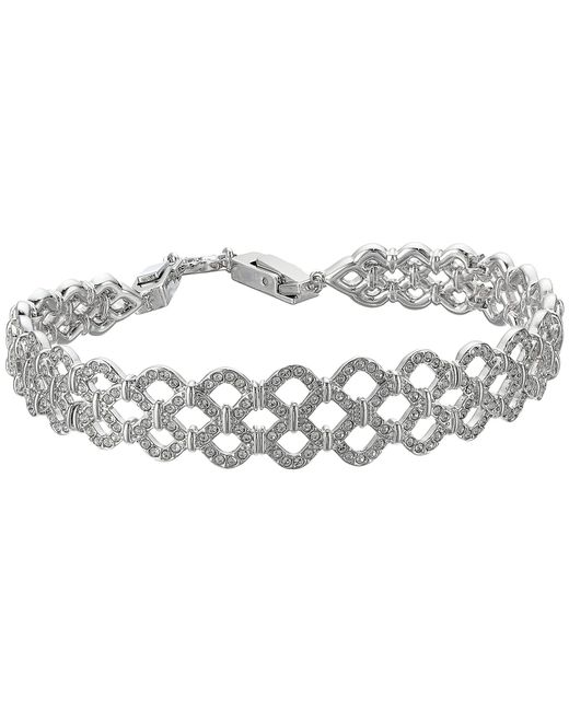 Swarovski - Multicolor Lace Bracelet - Lyst
