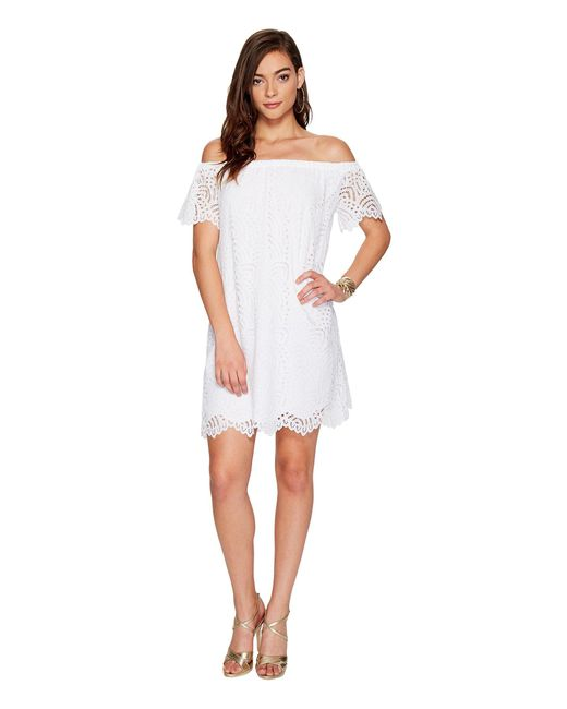 Lilly Pulitzer | White Marble Dress | Lyst