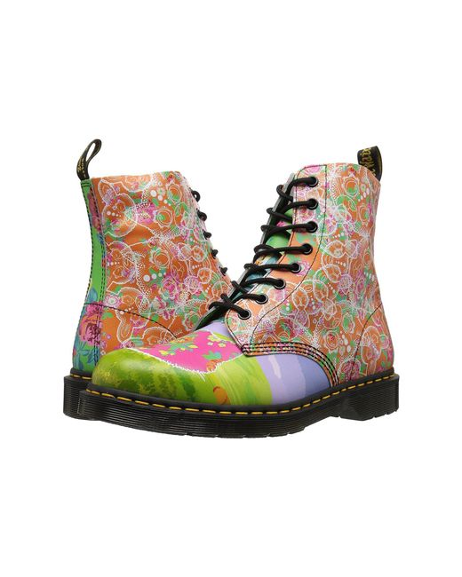 Dr. Martens   Multicolor Pascal Daze 8-eye Boot   Lyst