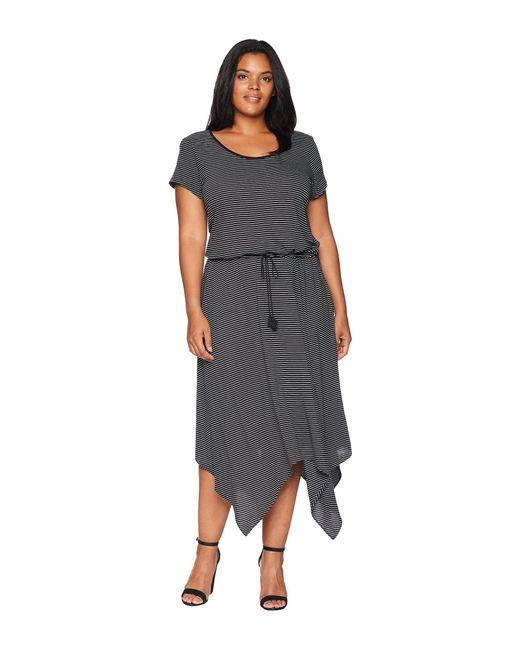 Lyst Lauren By Ralph Lauren Plus Size Handkerchief Hem Short