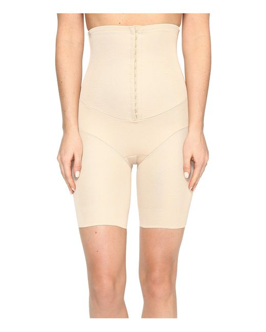 Miraclesuit - Natural Inches Off Hook & Eye Waist Cinching Thigh Slimmer - Lyst
