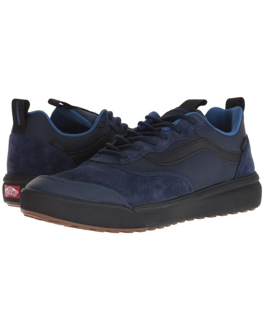 Lyst - Vans Ultrarange (dress Blues black) Men s Shoes in Black for Men 06c06626a