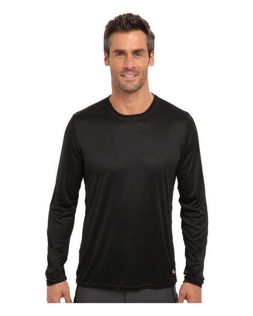 Hot Chillys - Peach Solid Crewneck (black) Men's Long Sleeve Pullover for Men - Lyst