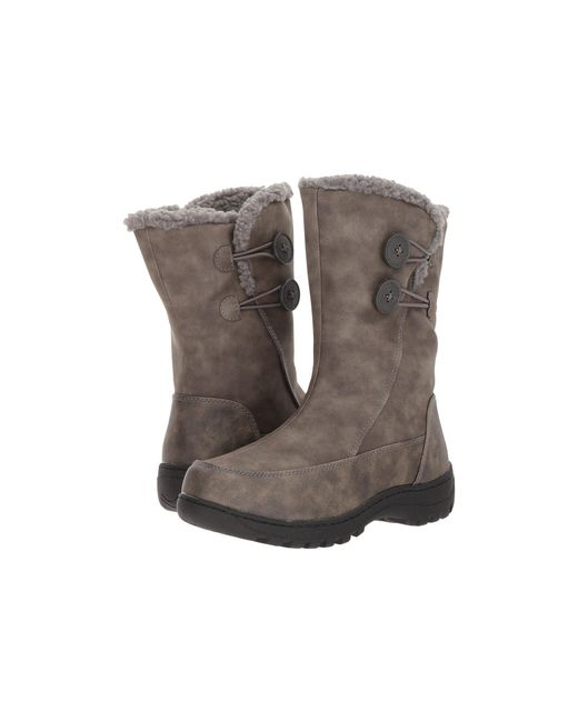 Tundra Boots - Gray Marilyn (black) Women's Boots - Lyst