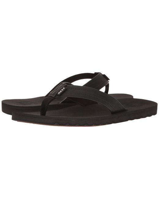 6181c808b Lyst - Reef Voyage (black) Men s Sandals in Black for Men