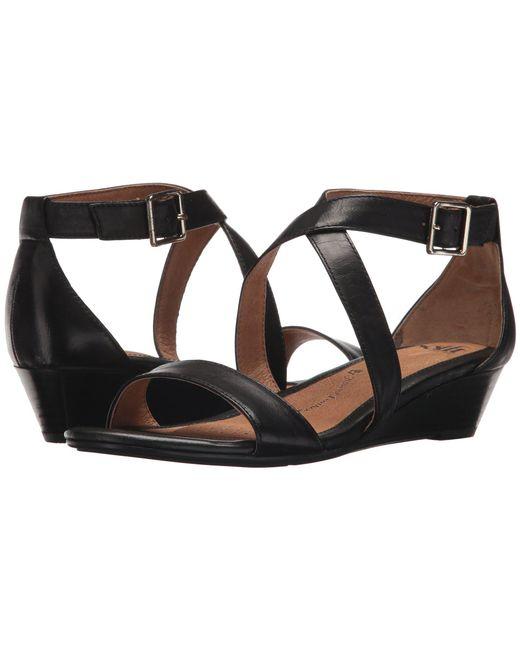 Söfft - Black Innis (platino Rasputin) Women's Wedge Shoes - Lyst