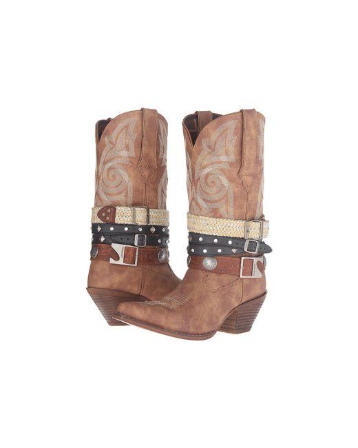 Durango - Brown Crush Western Accessory 12 (tan) Cowboy Boots - Lyst
