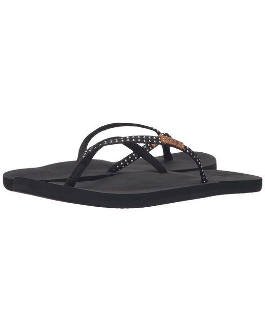 Reef - Black Slim Ginger Stud (coral) Women's Shoes - Lyst