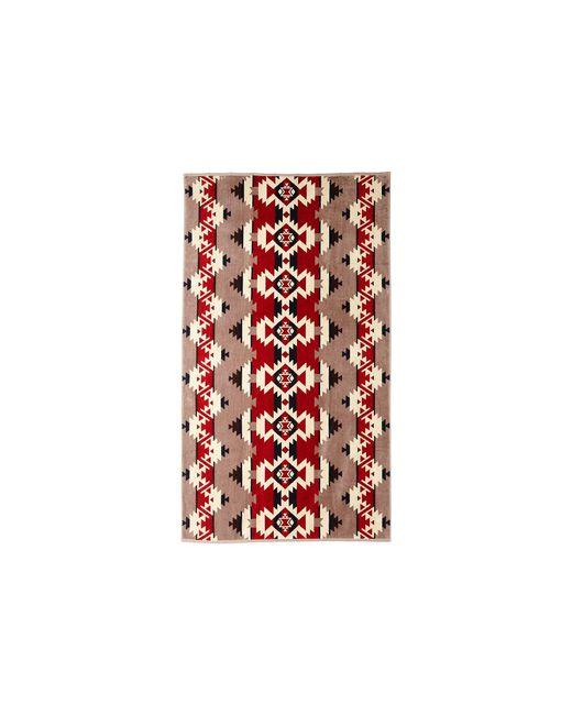 Pendleton | Red Oversized Jacquard Towel | Lyst