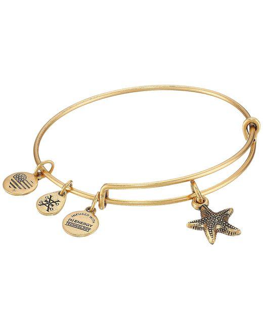 ALEX AND ANI - Metallic Seaside Starfish Ii Bangle - Lyst