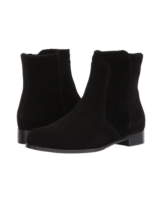 Lyst La Canadienne Sophie Black Leather Women S Boots