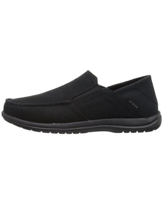 c6cfbef3915 ... Crocs™ - Black Santa Cruz Convertible Slip-on (espresso/walnut) Men's  ...