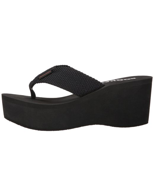 Lyst - Rocket Dog Crush (black 001) Women s Sandals in Black f64190d67