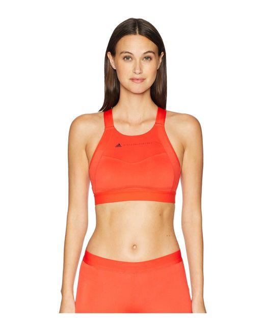 Adidas By Stella McCartney - Performance Essentials Bra Cz3926 (core Red S17) Women's Bra - Lyst