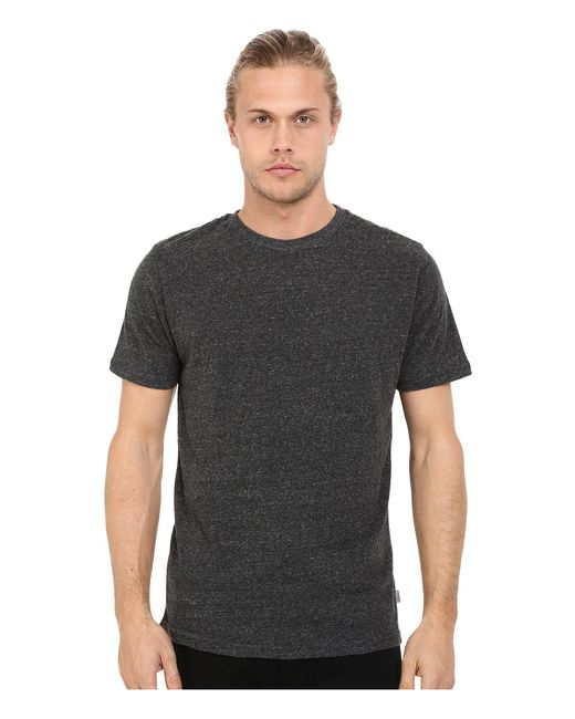 Threads For Thought | Black Baseline Tri-blend Crew Tee for Men | Lyst