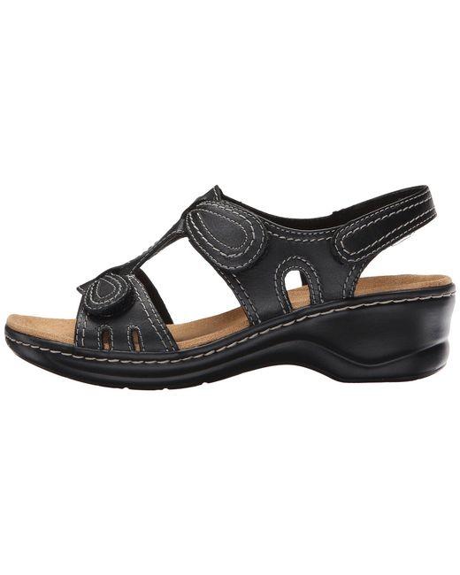 797a787cc0f8bc ... Lyst Clarks - Black Lexi Walnut Q (white) Women s Sandals ...