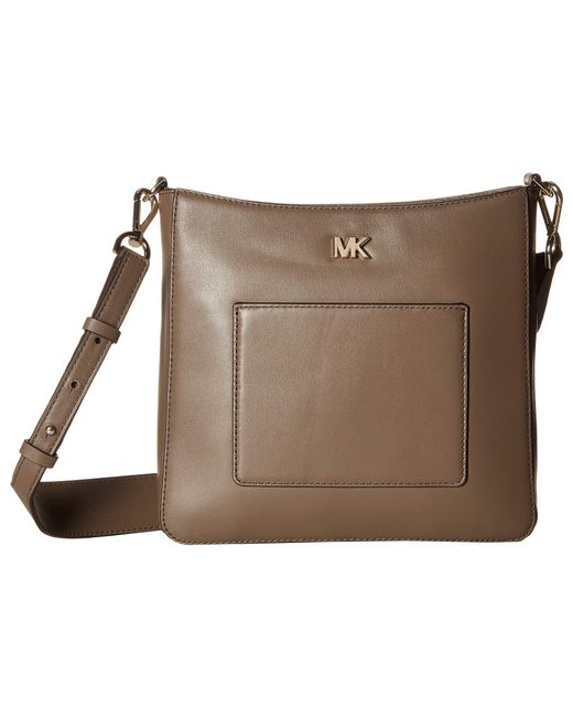 MICHAEL Michael Kors - Brown Gloria Pocket Swing Pack (mushroom) Bags - Lyst