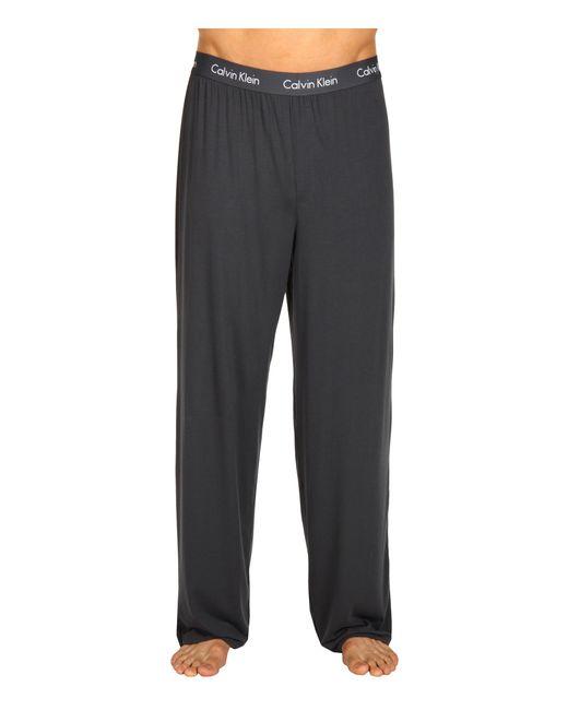 Calvin Klein   Gray Micro Modal Pant   Lyst