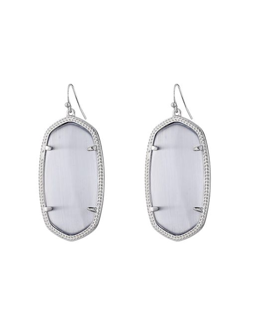 Kendra Scott | Gray Danielle Earrings | Lyst