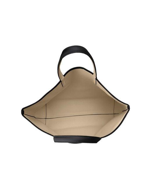 Anna Lacoste Sand Lyst Bag Reversible Shopping Warm black Large 4v5P5wnxq